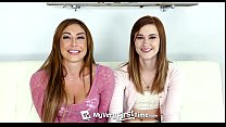 myveryfirsttime   alaina dawson tries her first threesome with sexy christiana c