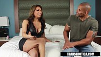 trans erotica jessy dubai takes the black dick