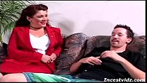 Stepmom and son on couch porn videos