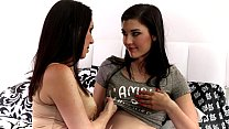 RayVeness and Jenna Reid at Mommy's Girl