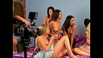 behind the scenes of lesbian orgy from kagney linn karter