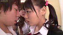 Asian Schoolgirls Seduce Classmate - More Video...