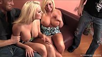 Pornstar Britney Amber gives friends husband blowjob