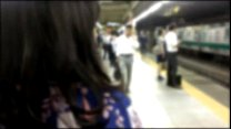 Real groping in Japanese train Summer special with Yukata porn videos