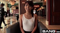 Gina Valenita is hopeful about her creampie audition with BANG! porn videos