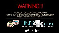 Tiny4K - Petite Victoria Rae Black gives BJ and...