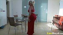 Curvy blonde Babe Cindy Dolar loves pleasing he...