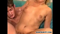 Amateur girlfriend interracial threesome with f...