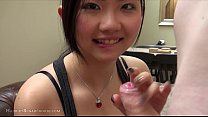 big tits cute asian teen amazing wet blowjob
