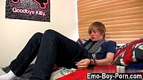 Hot twink Brent Daley is a lovely platinum-blon...