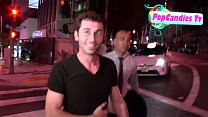 James Deen i s comfortable being pantless yet still mum on Lindsay Lohan Story in LA   YouTube