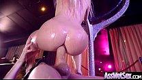 Slut Naughty Oiled Girl (Jessie Volt) With Big Round Butts Love Anal Sex movie-27