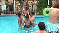 tai phim sex -xem phim sex Skinny ass Asian sluts are having fun by the pool