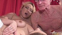 2 Young Girls fuck 2 Old Men and Swallow their ...