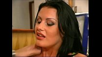 Classy brunette in black stockings fucked by wa... thumb