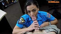 ms police officer stuffed by horny pawn man to earn money