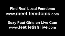 Let me give you a footjob with my soft silky feet