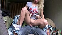 garage in fucked veronika teen blonde curly - stop Bitch