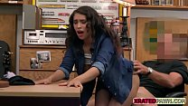 Lady from congo fucked in the pawnshop office hard