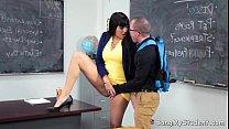 pornhub.com - student nerdy her fucks carrera mercedes teacher latina Hot