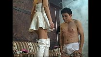 MLDO-074 Queen girl plays in tow pigs cruelly. ...