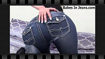 My tight jeans will make you rock hard JOI