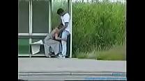 blowjob at the bus stop