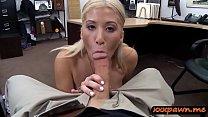 Big boobs blond woman nailed by pawn guy thumb