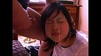 Asian teens getting facial compilation - part I...