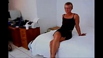 Fit short haired milf fucks BBC then a girl wit...