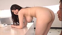 Big titted office MILF fucks at work - Rie Tachikawa