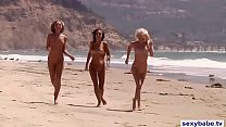 Playboy babes nude surfing and snowboarding
