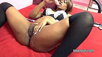 dong big a with twat her stuffs laflare solah hottie Black
