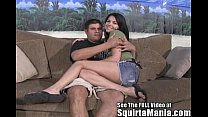 Danica Dillan Drenches Dan In Sweet Pussy Squir...