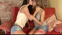 nessa devil passionate kissing and licking