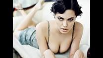 shower the under jolie Angelina