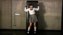 JAPANESE SCHOOL GIRL OILED & TICKLED porn videos