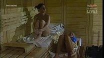 bettie ballhaus and annina ucatis bedroom sauna