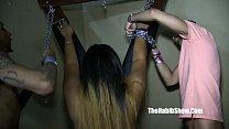 ... threesome gnagbang fuck banks leona phat Thick
