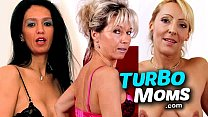 Skinny milf from Hungary Aniko wild sex in a gr...