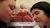 Forced Foot Worship - Tracy Lindsay - Humiliati... thumb