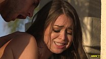 Riley Reid squirts on stepbrother's hard cock -...