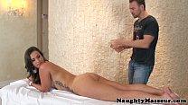 Kelsi Monroe three holes cock massaged