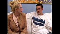sofa on fucked marga dalny blonde Hot