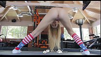 Tiny4K - Go for Gold with petite blonde Scarlet...