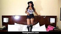 TeenyBlack - Busty Canadian Ebony Porn Debut thumb