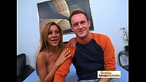 hubby her of front in doggystyle drilled deeply getting milf busty gorgeous dalia