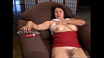 Beautiful older amateur has nice big tits