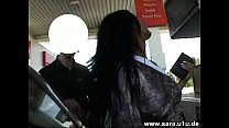 Sarah Meets A Stranger At The Gas Station