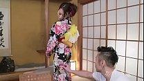uncensored - sexy asian Aoi Mizuno on kimono ma...